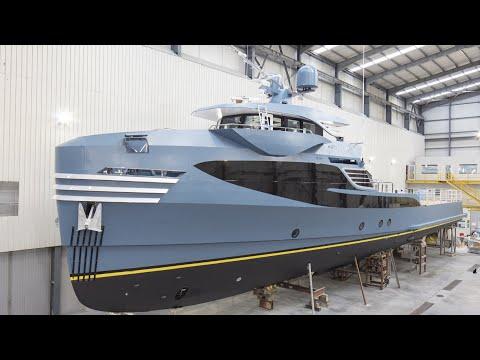 Alia Yachts PHI Phantom Support Ship (2021) Reveal