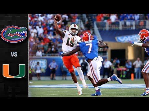 Florida vs. Miami Football Highlights (2019)