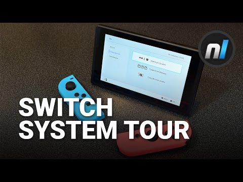 Nintendo Switch System Settings & User Interface Tour