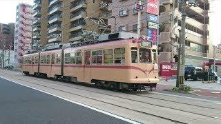 広島電鉄3000形3004号 海岸通〜宇品五丁目