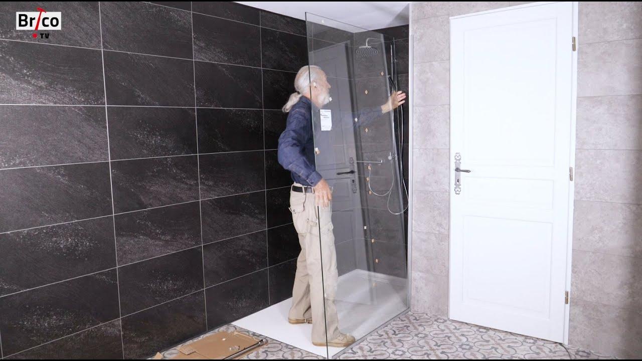 installer une paroi de douche tuto bricolage avec robert