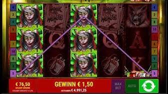 Book of Madness online spielen - Merkur Spielothek / Bally Wulff