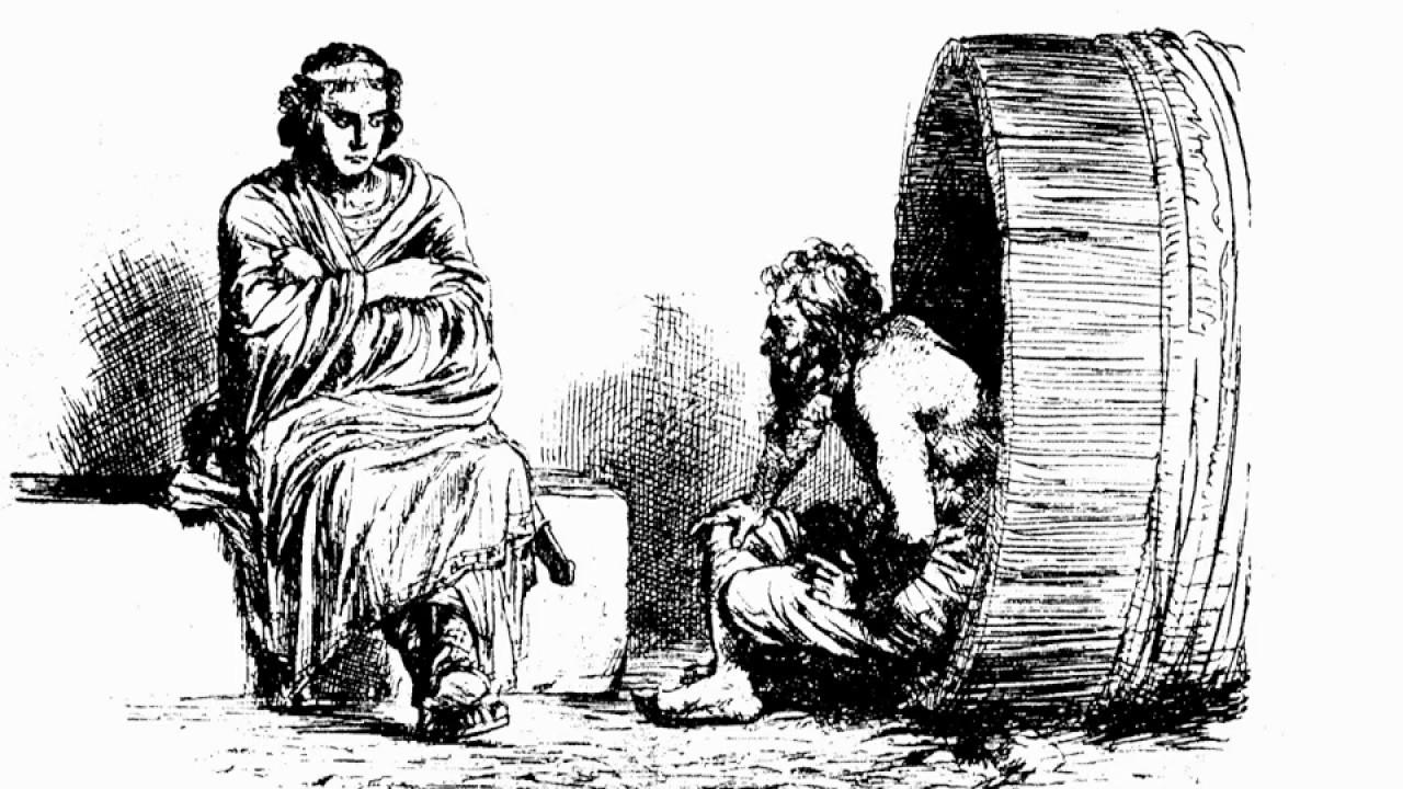 Diogenes Von Sinope Alexander Der Große Der Dialog