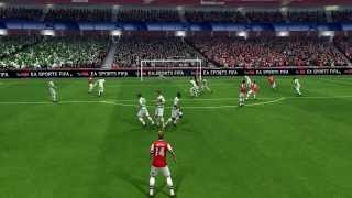 FIFA 14 ( PC ) - Skills, Passing,Goals using Keyboard