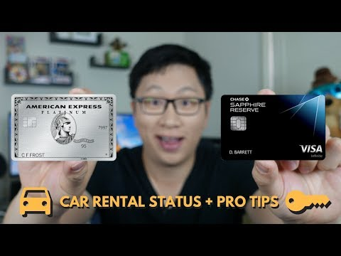 Car Rental Status (CSR + Amex Plat) + Tricks to Save Money