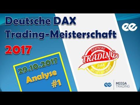 DAX Analyse 29.10.2017 - Deutsche Trading Meisterschaft 2017 - Marcus Klebe