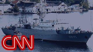 Russian spy ship heading toward US