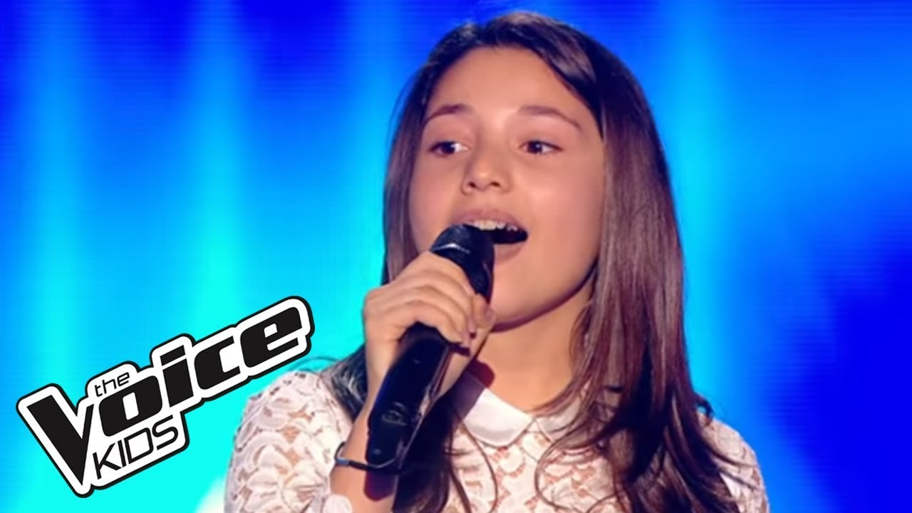 The Voice Kids 2015 | Emeline - Chandelier (Sia) | Blind Audition ...