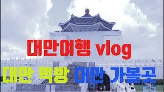 대만여행 2탄 브이로그…