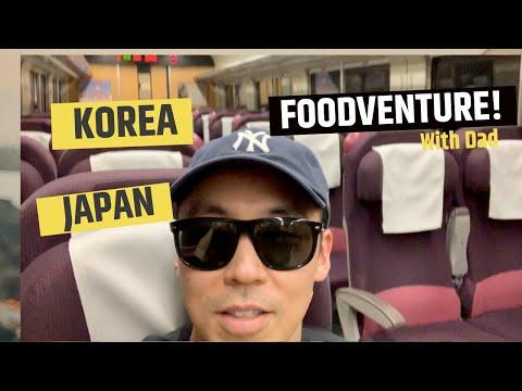 (이번엔) VLOG! KOREA/JAPAN IN SEARCH OF GOOD FOOD!