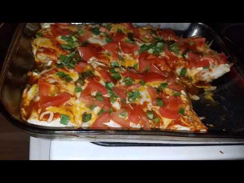 How to make Burrito Enchiladas 👍👍👍