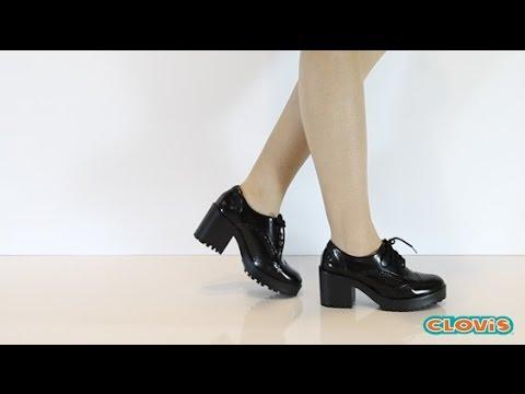 64e6520e2 Sapato Feminino Oxford - Via Marte - YouTube