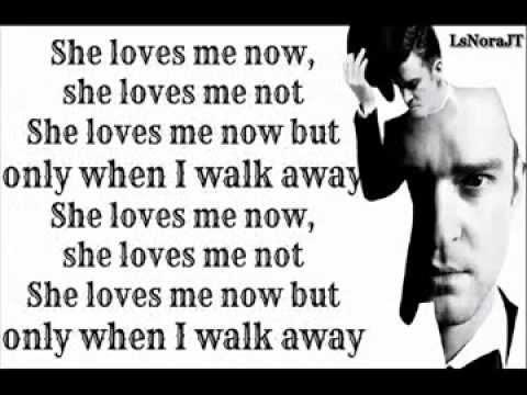 justin-timberlake-only-when-i-walk-away-lyrics-on-screen