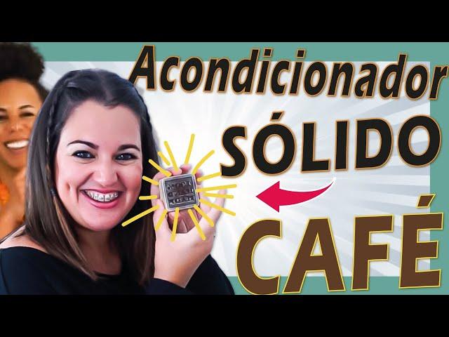 ☕ ACONDICIONADOR SÓLIDO DE MANTECA DE CACO Y CAFÉ 🤎 Cómo hacer acondicionador solido natural