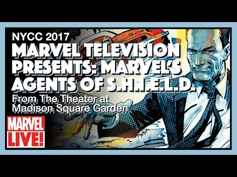 Marvel's Agents of S.H.I.E.L.D. Panel at Madison Square Garden - NYCC 2017