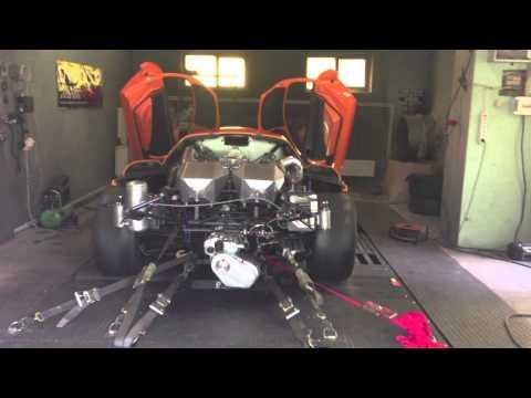 Saleen S7 TT AWD dyno test 2280 awhp