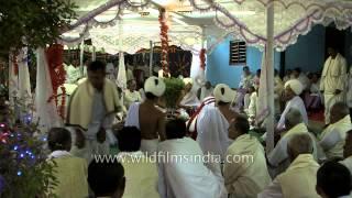 A typical Manipuri wedding mandap