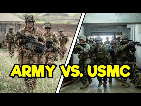 ARMY INFANTRY VS. MARINE INFANTRY