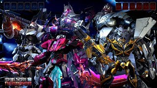 TRANSFORMERS Online - Autobots vs Decepticon All SKin ,Weapons ,Transform vs Slow Motion UE4 Show