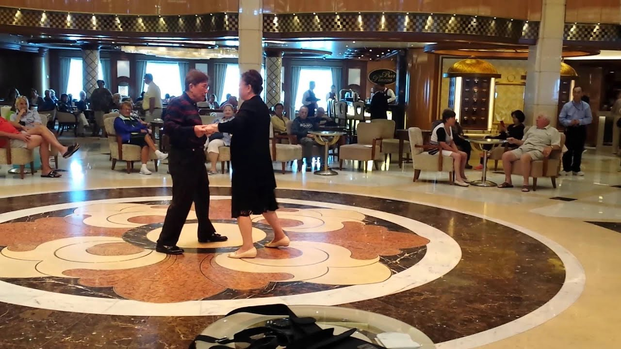 Years Old Parents Dancing Tango On Regal Princess Baltic Sea - Baltic cruises 2015