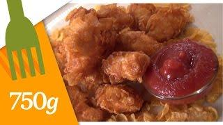Recette du Poulet Crispy Tenders façon KFC- 750 Grammes