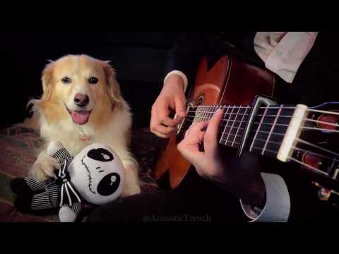 This Is Halloween Fingerstyle Guitar - The Nightmare Before Christmas