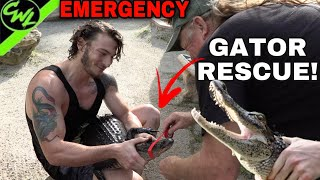 EMERGENCY GATOR RESCUE!!!