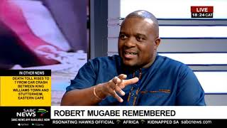 Reflecting on Mugabe's legacy with Brian Kagoro