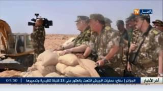 ورقلة: الفريق أحمد قايد صالح في زيارة عمل بالناحية العسكرية الرابعة