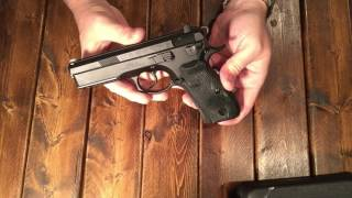 "CZ 75 SP-01 Tactical 9mm - ""The Beast"""