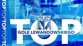 TOP10: Robert Lewandowski goals in Ekstraklasa!