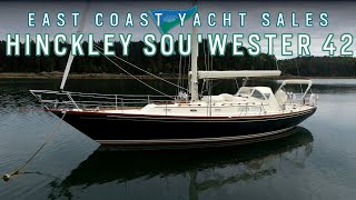 Hinckley Sou'wester 42 for sale! East Coast Yacht Sales