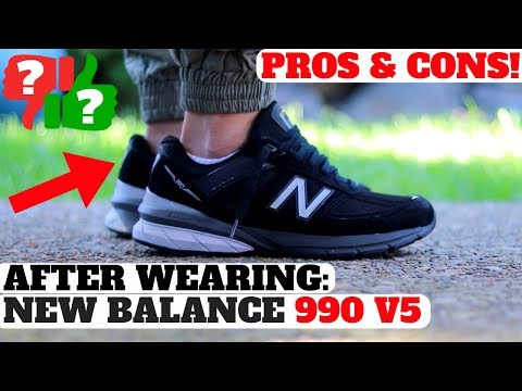 After Wearing: NEW BALANCE 990 V5 Pros & Cons Review!