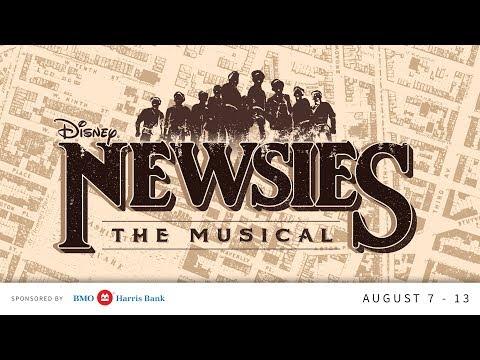 Newsies at The Muny!