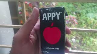 Appy apple fruit drink from parle agro industries