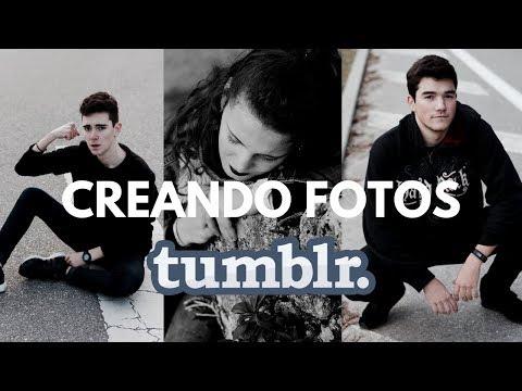 CREANDO FOTOS TUMBLR | Martín Tena