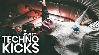 How to make low rumbling Techno kicks