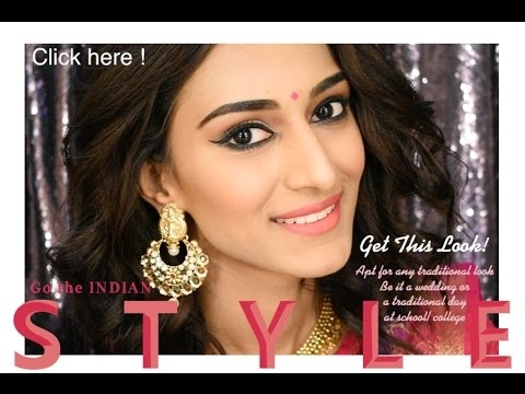 Indian wedding guest makeup tutorial