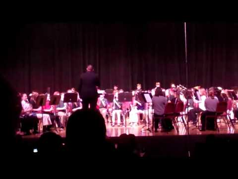 7th Grade Honor Band ~ Barrage (Robert Smith)