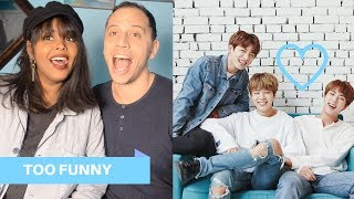 BTS AWKWARD FUNNY MOMENTS REACTION (BTS REACTION)