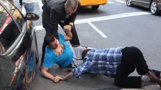 REAL New York Street fight