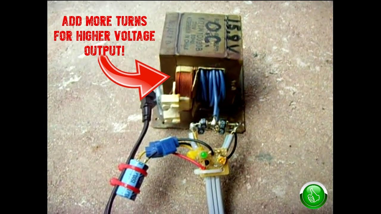 Diy Car Battery Charger