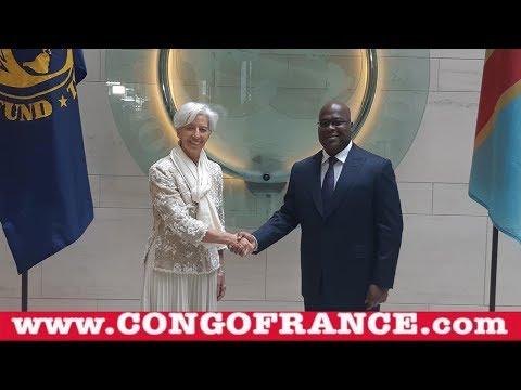 Arrivée Du Président Félix Tshisekedi Tshilombo Au Fonds Monétaire International