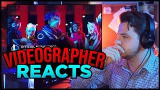Videographer reacts to True Damage - GIANTS (ft. Becky G, Keke Palmer, | League of Legends