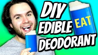 DIY Edible Deodorant! | How To Make Deodorant You Can Eat! | Jello & Chocolate Deodorant Tutorial! thumbnail