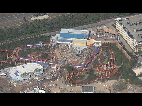 Flying a Plane Over Walt Disney World | Aerial Construction Updates & World's Largest Hidden Mickey!