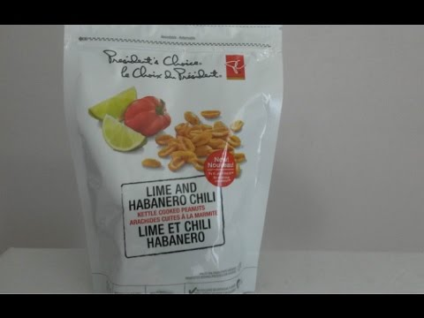 PC (Canada) Lime & Habanero Chile Peanuts | Spicochist Reviews