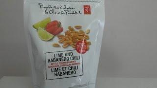 Pc (canada) Lime & Habanero Chile Peanuts | Spicochist Reviews