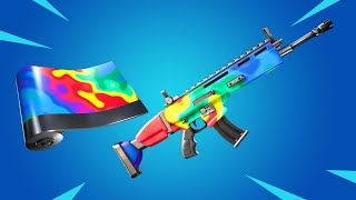 *NEW* RAINBOW RODEO WRAP IS AWESOME! (Fortnite Battle Royale)