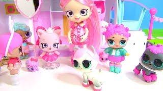 Куклы Лол Мультик! Урок Балета Шопкинс для Пупсов Лол! Детский мультик! Пони